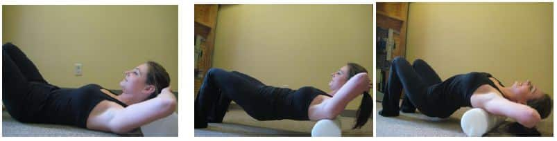 Foam Roller Stretch