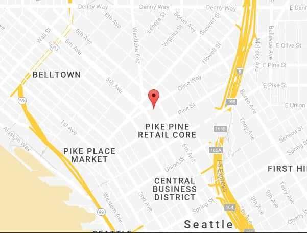 Chiropractor Seattle Map Tablet
